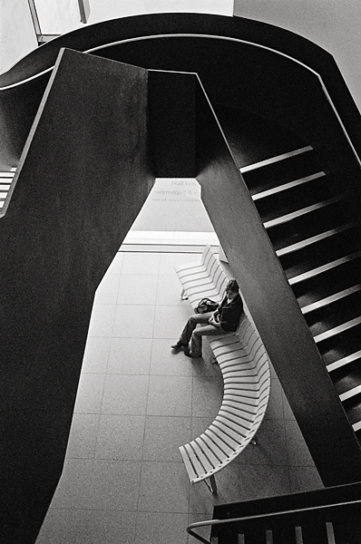 Towner stairs